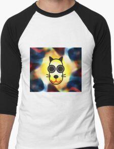 MOODI 1 cat, by m a longbottom - PLATFORM58 Men's Baseball ¾ T-Shirt
