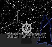 Jedi Batman by RellikJoin
