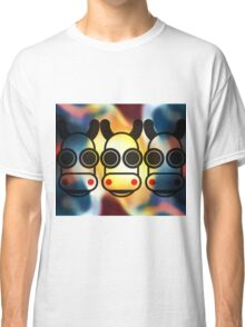 MOODI 3 cow, by m a longbottom - PLATFORM58 Classic T-Shirt