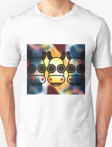 MOODI 3 cow, by m a longbottom - PLATFORM58 T-Shirt