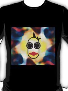 MOODI 1 face, by m a longbottom - PLATFORM58 T-Shirt