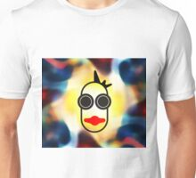 MOODI 1 face, by m a longbottom - PLATFORM58 Unisex T-Shirt