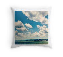 Oklahoma Plains Throw Pillow