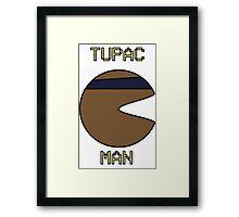 Tupac Man Framed Print