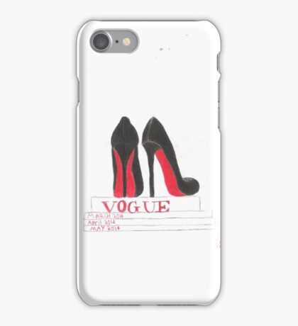 Louboutins and Vogue iPhone Case/Skin