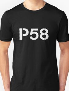 P58 - LOGO WHITE FOR DARK BACKGROUND T-Shirt
