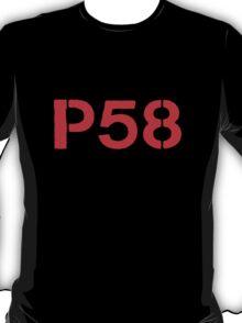 P58 - LOGO RED ON WHITE OR LIGHT T-Shirt