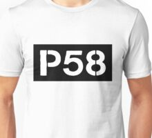 P58 - LOGO IN BLACK RECTANGLE Unisex T-Shirt