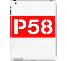 P58 - LOGO IN RED RECTANGLE iPad Case/Skin