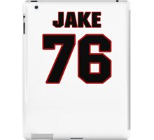 NFL Player Jake McDonough seventysix 76 iPad Case/Skin