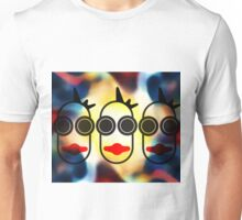 MOODI 3 face, by m a longbottom - PLATFORM58 Unisex T-Shirt