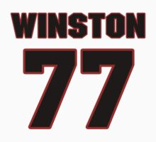 NFL Player Winston Justice seventyseven 77 by imsport