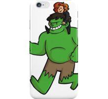 Natasha + Hulk iPhone Case/Skin