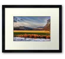 The Grampians Framed Print