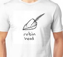 Robin Hood - Feathered Cap Unisex T-Shirt