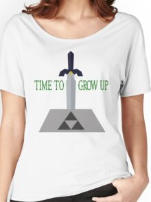 Time to Grow Up Women's Relaxed Fit T-Shirt