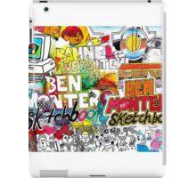 Ben Montero Sketchbook iPad Case/Skin