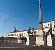 The Quirinal Palace in Rome by iristudiophoto