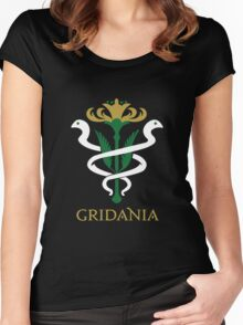 Gridania Coat of Arms Women's Fitted Scoop T-Shirt