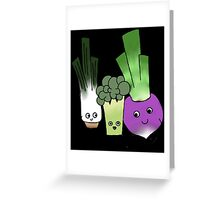 Vegetipals Greeting Card