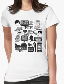 I'd Be Lost Without My Blogger Womens Fitted T-Shirt