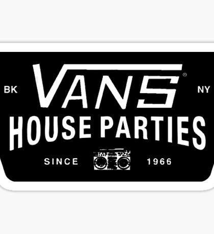 vans logo Sticker