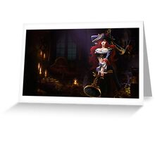 Miss Fortune League of Legends Lol Greeting Card