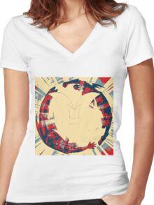 Elemental Hero Women's Fitted V-Neck T-Shirt