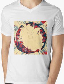 Elemental Hero Mens V-Neck T-Shirt
