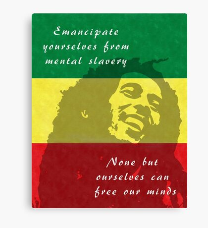 Redemption Song Canvas Print