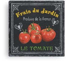 French Vegetables 1 Canvas Print