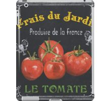 French Vegetables 1 iPad Case/Skin