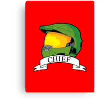 Master Chief Version 2 Canvas Print