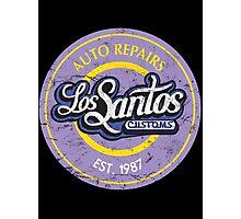 Los Santos Customs Photographic Print