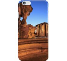 Triton fountain in Rome iPhone Case/Skin