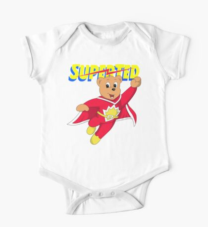 Superted Hero Superhero One Piece - Short Sleeve