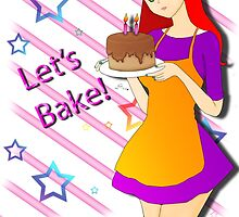 Kathryn: Let's Bake  by LARiozzi