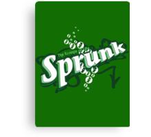 Sprunk! Canvas Print