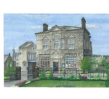 Horsforth Leeds Library by Brian Hargreaves