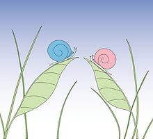 Snails in love by gilimag