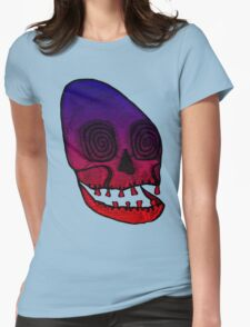 Ancient Skull Womens Fitted T-Shirt