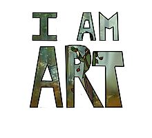 I AM ART - Hiccup Photographic Print
