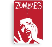Zombies!!! Canvas Print