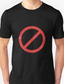 Beard Only - No Shaving Allowed Epic Beards Distressed Design Unisex T-Shirt