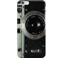 Vintage photo camera iPhone Case/Skin