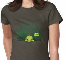 turtle bites! Womens Fitted T-Shirt