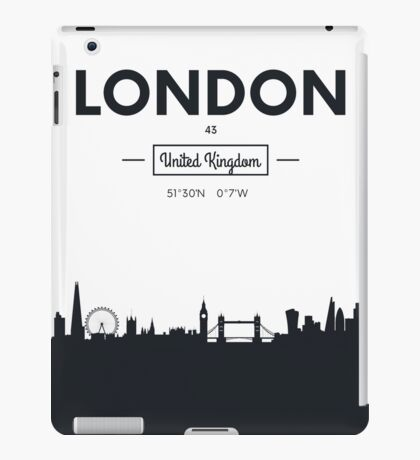 city skyline London iPad Case/Skin