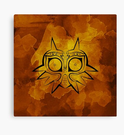Majora's Mask Lines Canvas Print