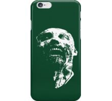zombie face iPhone Case/Skin