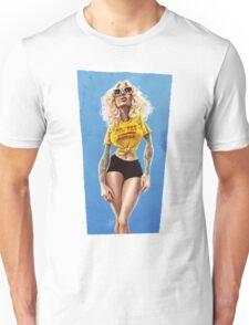 Highway Honey Retro Pinup Lass with Sass Unisex T-Shirt